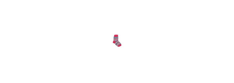Fargerike barne-sokker designet av Arne og Carlos
