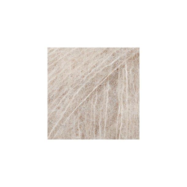Brushed Alpaca Silk Lys beige 04