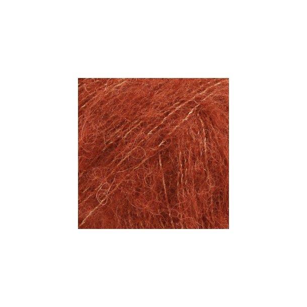 Brushed Alpaca Silk Rust 24