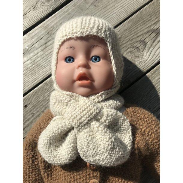 Babyskjerf i Lundegård alpakka