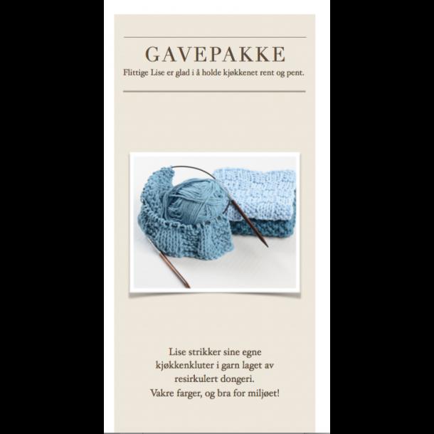 Gavepakke - Flittige Lises kjøkkenkluter
