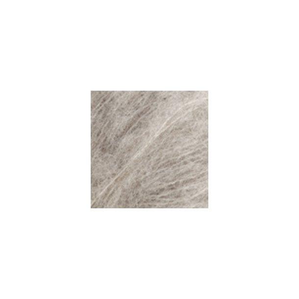 Brushed Alpaca Silk Lys grå 02